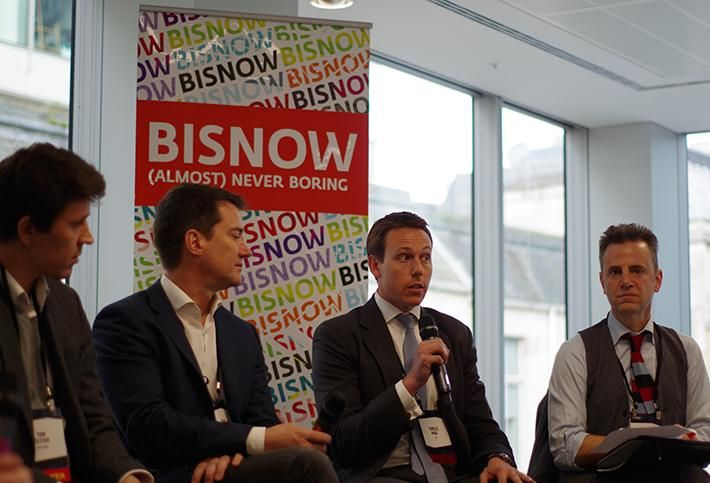VTS' Charlie Wade speaks at Bisnow's Future of PropTech event on March 30, 2017