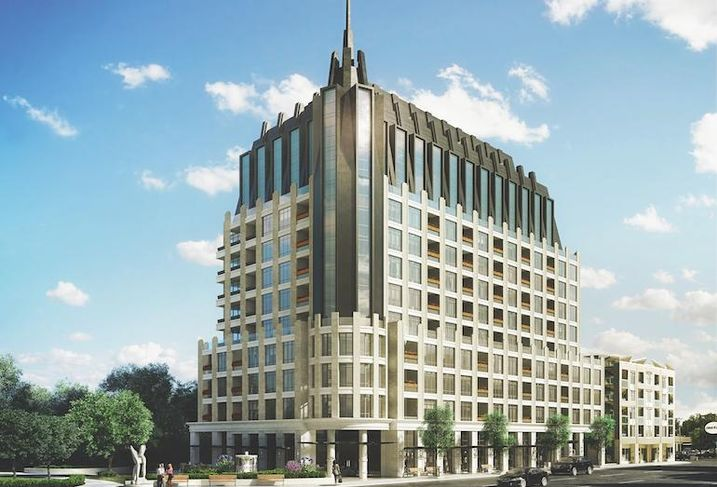 1451 Wellington West, a 12-storey building that will be Mizrahi Developments' first project in Ottawa.