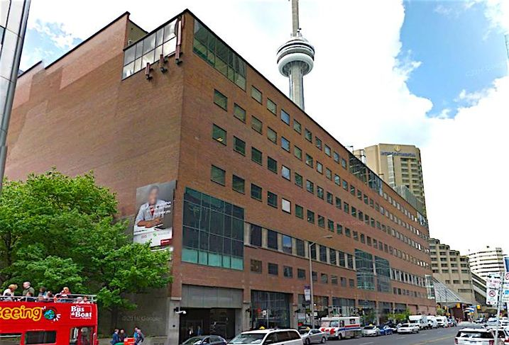 Allied Properties-owned data centre at 151 Front St. W in Toronto.