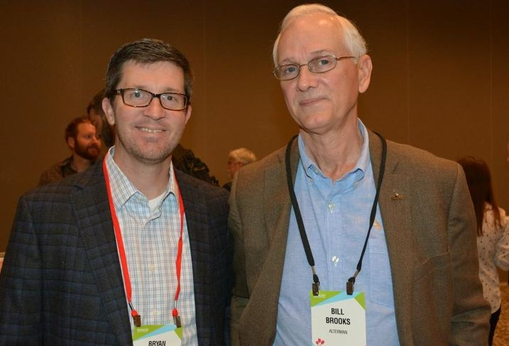 DPR's Bryan Kent and Alterman's Bill Brooks