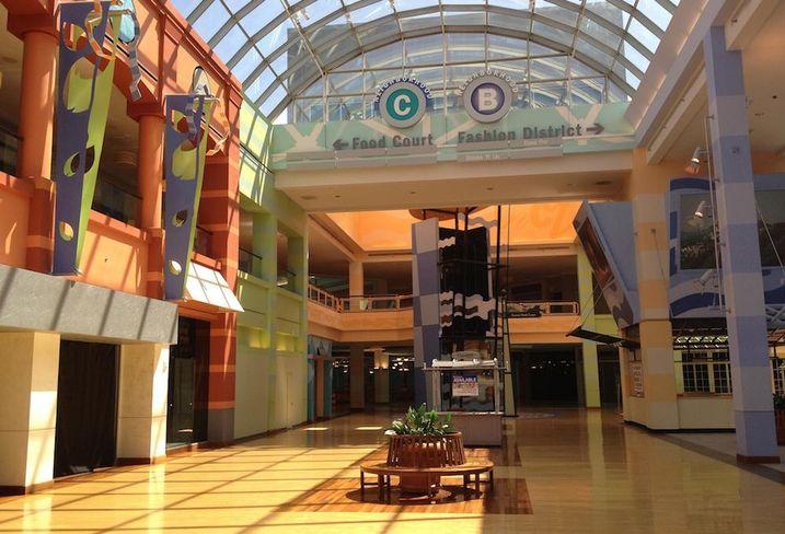 Dead mall in Cincinnati, Ohio