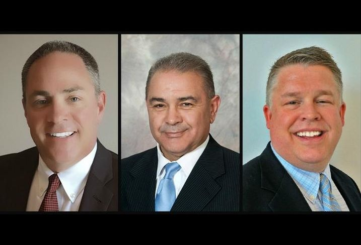 Industrial Outdoor Ventures CEO Tom Barbera, COO JD Salazar and CFO Tom Voet