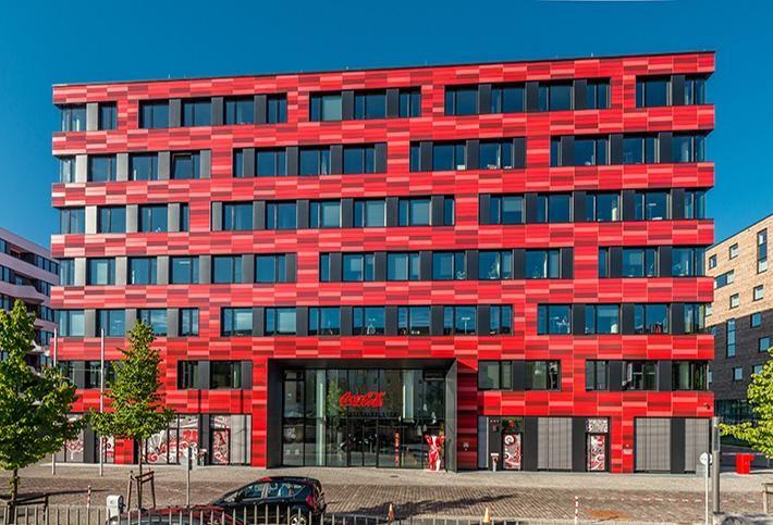 Coca Cola Building in Berlin
