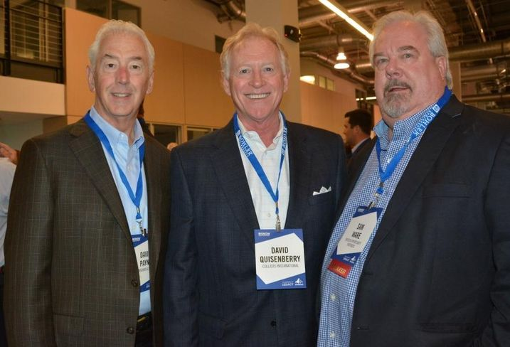 Commonwealth title's David Payne, Colliers' David Quisenberry, Dreien Opportunity Partners CEO Sam Ware