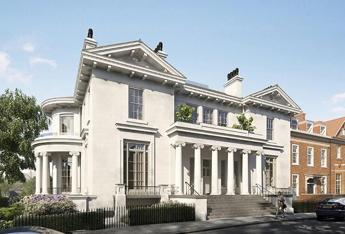 CGI of post-restoration Hampstead Manor