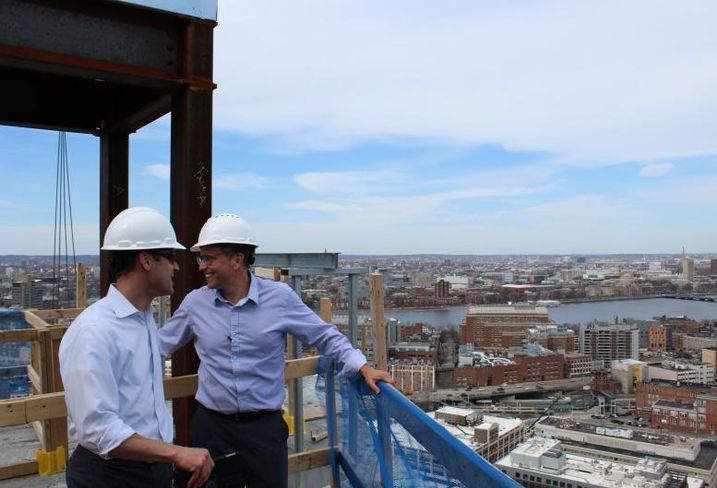 Sky High Over Fenway: A Hard Hat Tour Of Pierce Boston