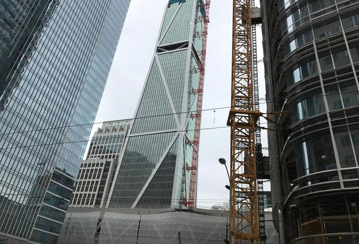 San Francisco's Transbay Terminal Nearing First Phase Of Completion