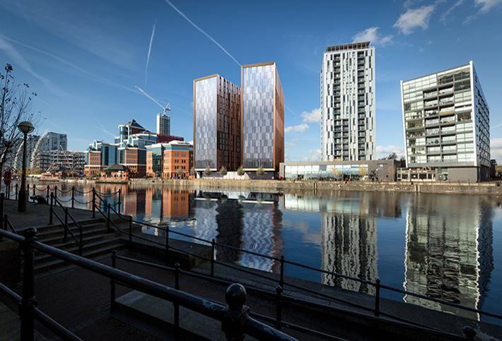 Moorfield's new development at Salford Quays