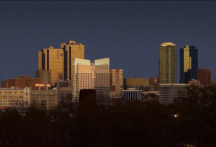 Fort Worth Skyline