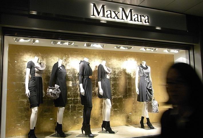 MaxMara window