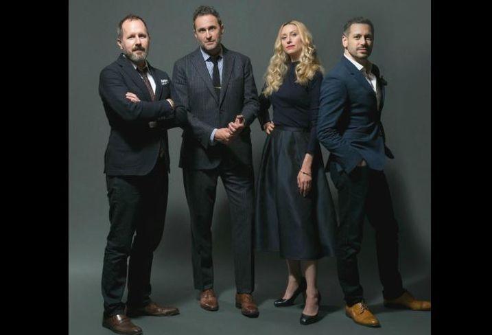AvroKo partners Greg Bradshaw, Adam Farmerie, Kristina O'Neal, and William Harris