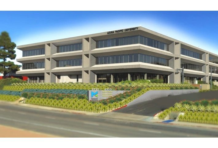 Azusa Pacific University has renewed its lease for expanded space at Mission Center in San Diego.