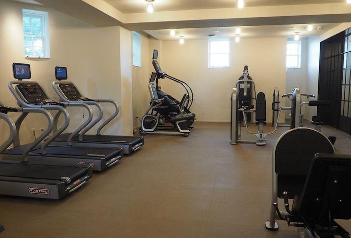 JBG Wardman Tower fitness room