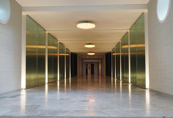 JBG Wardman tower entrance hallway
