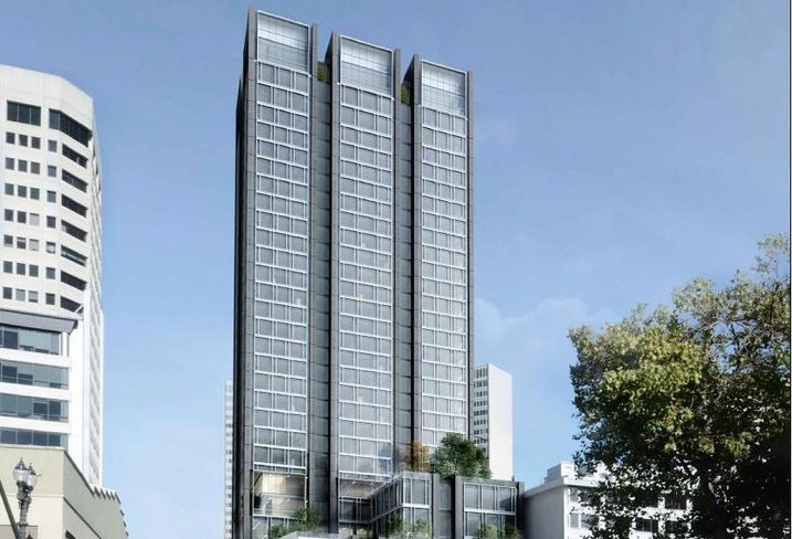 Redesigned High-Rise Proposed In Oakland
