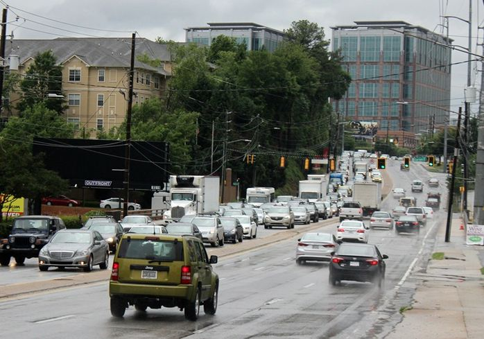 Some Jobs And Sales Are Falling Down The I-85 Pit