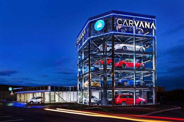 Carvana Considering Tempe Site For Car Vending Machine