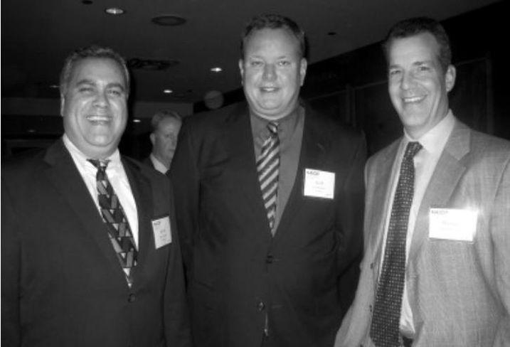 Keith Forrester, Scott Ralston and NAI Hiffman's Michael Flynn