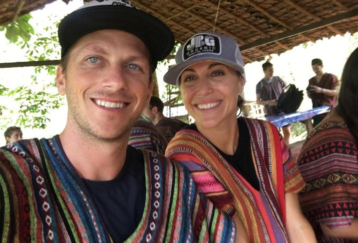 Cushman & Wakefield's Kevin Nolen and his wife, Juliet Nolen, in Chiang Mai, Thailand.