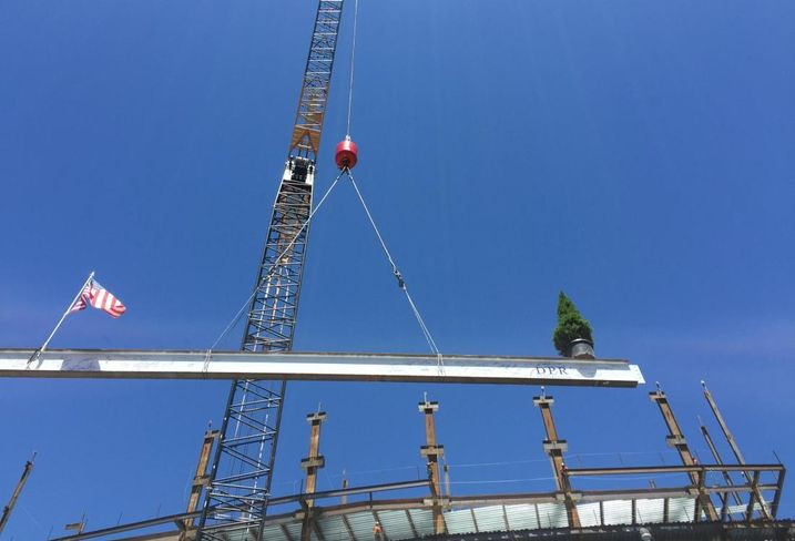 Wareham's EmeryStation West Tops Off