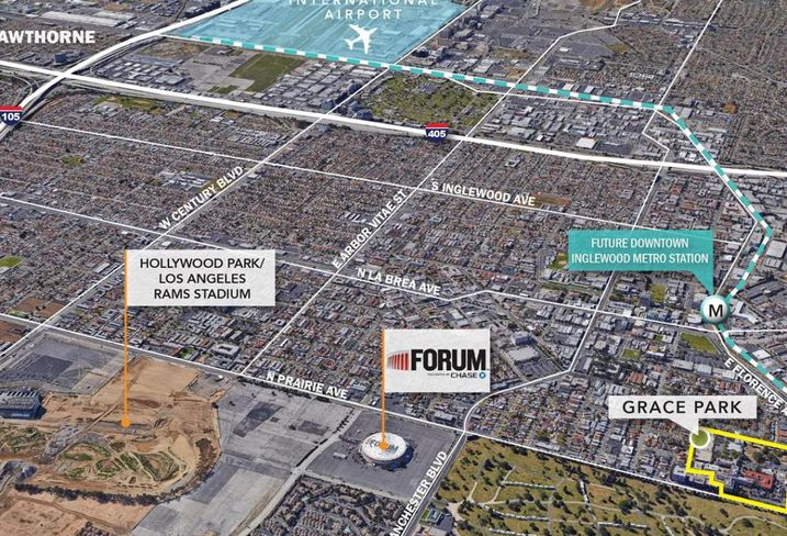 Hoffman-Grace Park - Inglewood, CA Site Map