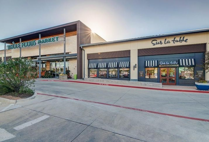 Trademark's Waterside in Fort Worth Whole Foods Sur La Table
