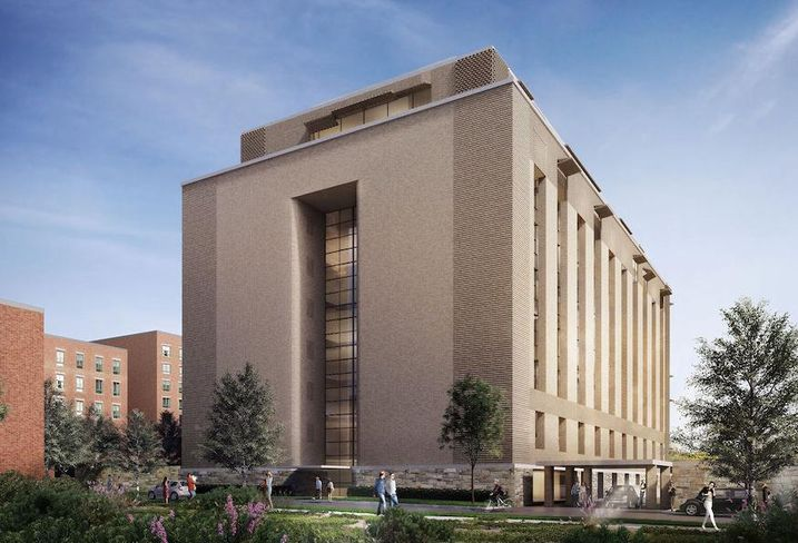 Georgetown West heating plant rendering