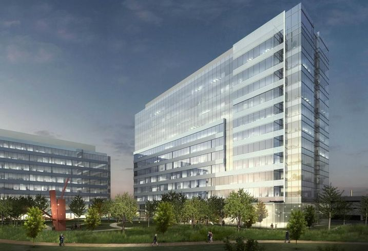 Hall Group broke ground on 3201 Dallas Parkway, its 17th building within Frisco's Hall Park, in September 2016. Hall Group has seen a lot of pre-leasing interest and construction is on schedule to deliver in December 2017. In early June, the 12-story, 300K SF building designed by HKS will top out.