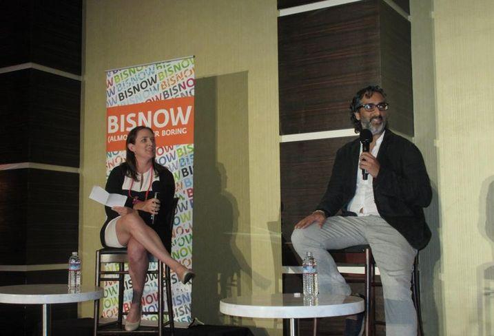Standard International & Bunkhouse Group CEO Amar Lalvani with Akerman partner Lisa Kolieb at BLIS.