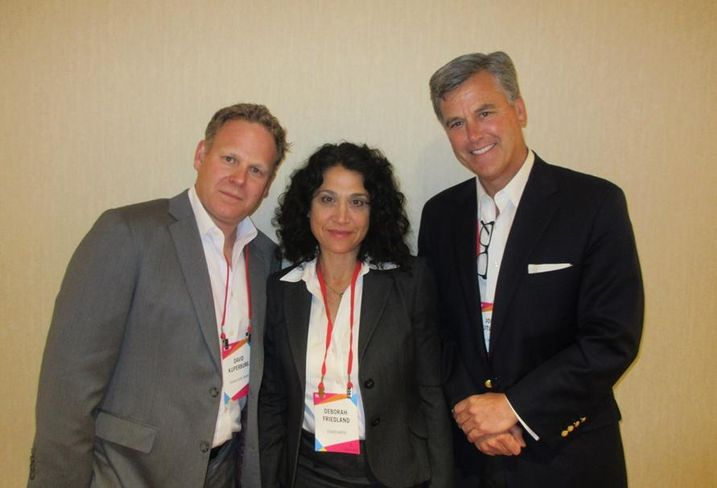 Dream Hotel chief development officer David Kuperberg, Eisner Amper managing director Debbie Friedland and Oxford Hotels & Resorts founder  John Rutledge