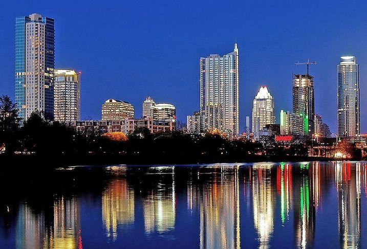 Austin skyline ATX