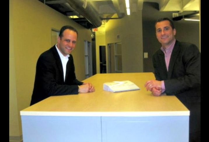 Baum Realty Managing Broker Allen Joffe and Principal Adam Secher