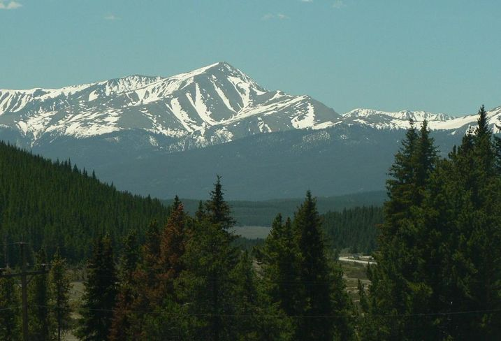 Mount Elbert of the Rocky Mountain Range