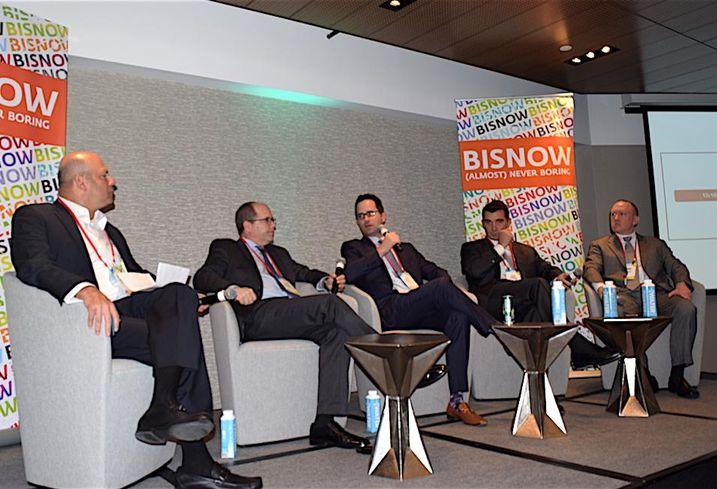 CohnReznick's Ron Kaplan, CPPIB's Peter Ballon, Allianz's Gary Phillips, Zurich Asset Management's Sean Bannon and QIC's Eric Belman