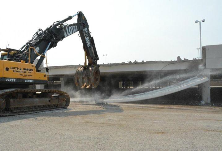 Dallas Midtown Valley View mall demo demolition
