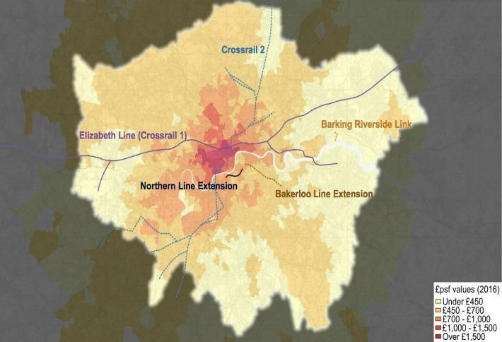 The Bar Chart And Map That Show You Where To Build Resi In London