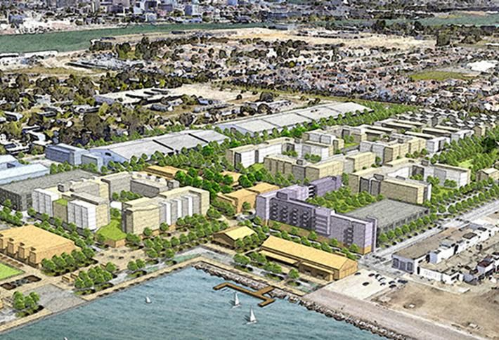 Alameda Point Developer Faces Default, Project In Question