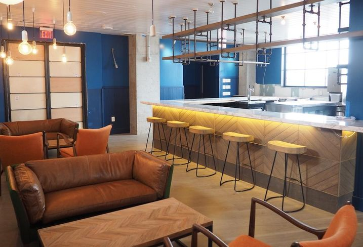 Rooftop bar Pod DC hotel