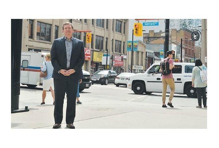 Mark Garner, Downtown Yonge BIA executive director