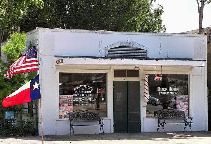 Buckhorn Barber Shop, New Braunfels, Texas
