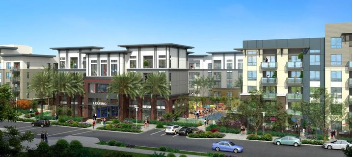 Rendering of A-Town in Anaheim, CA