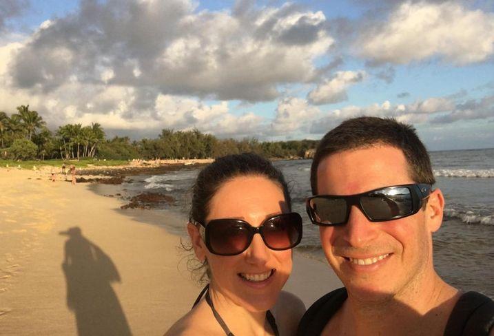 Lisa and Warren Berzack in Hawaii