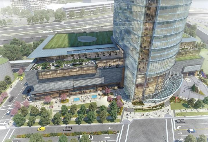 Capital One HQ rendering