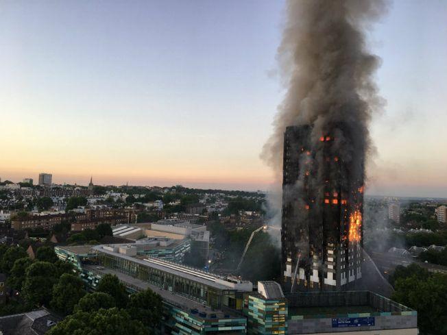 Grenfell Tower, London fire