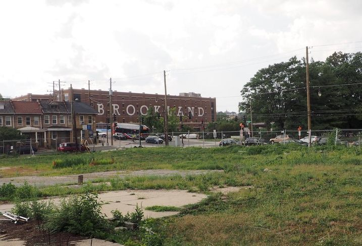 901 Monroe vacant site Brookland