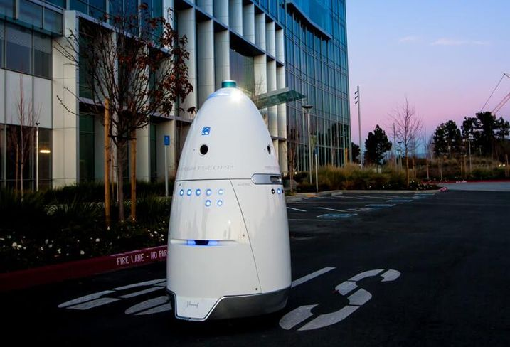 Knightscope building security robot
