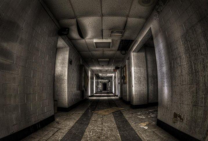 Abandoned hospital, healthcare