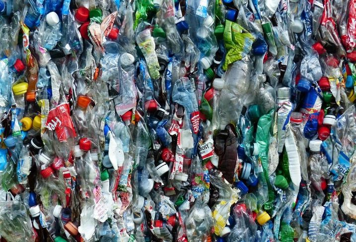 Plastic bottles, recycling, landfill, waste