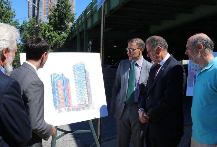 RXR, New Rochelle officials announce the latest development proposal