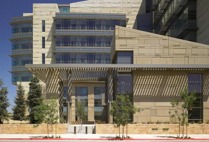 Fresno pre-construction Federal Courthouse